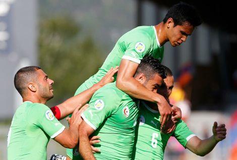 منتخب الجزائر يصل البرازيل لخوض المونديال