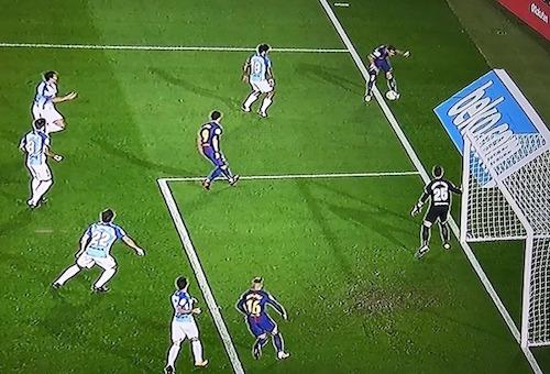 هرناندز: الكرة تجاوزت الخط بنصف متر واحتسبها الحكم هدفا لبرشلونة
