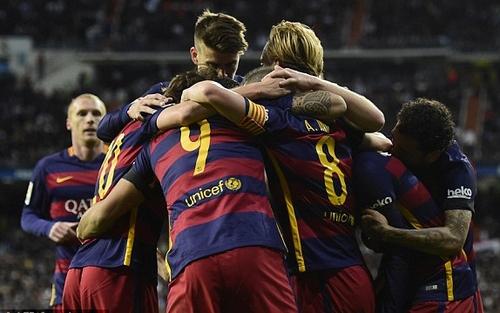 فوز برشلونة على ريال مدريد