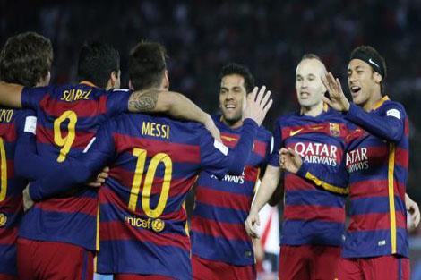 برشلونة ينفرد بالصدارة بفوز ثمين على أتلتيكو
