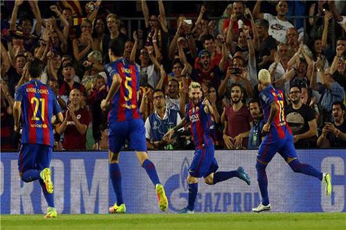 فوز برشلونة على إشبيلية