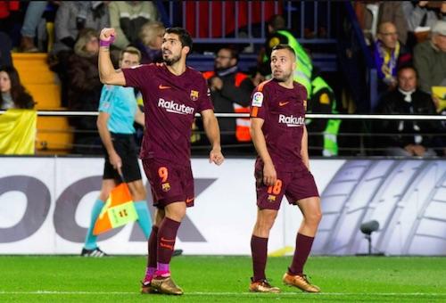 """برشلونة يعود لسكة للانتصارات ويُغرق """"غواصات"""" فياريال في الدوري الإسباني"""