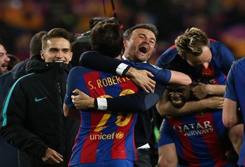 برشلونة يقترب من حسم خليفة إنريكي