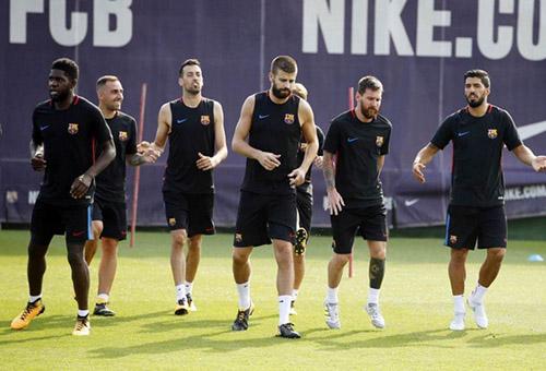 برشلونة يبدأ الاستعداد للسوبر الإسباني