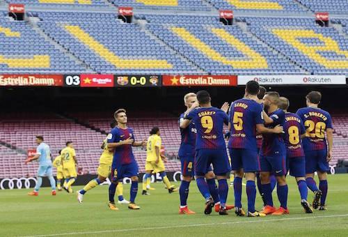 اختبار سهل لبرشلونة وأتلتيكو مدريد قبل الصدام الناري