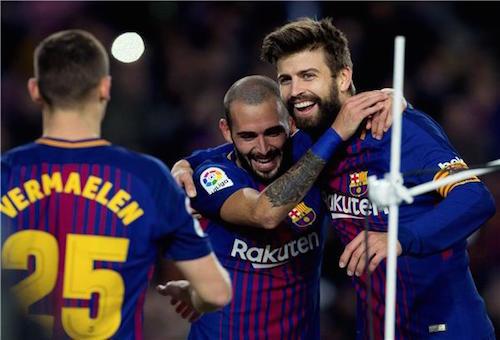 """برشلونة """"يفترس"""" سيلتا فيغو بخماسية ويكمل عقد المتأهلين لدور الثمانية بكأس ملك إسبانيا"""
