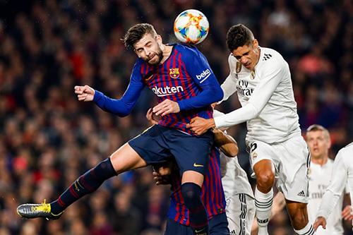 برشلونة يتعادل مع الريال في ذهاب قبل نهائي كأس ملك إسبانيا
