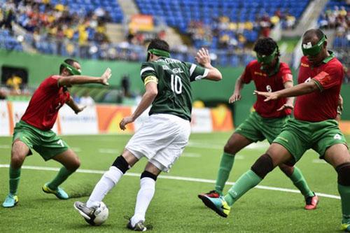 """المنتخب المغربي للمكفوفين ينهزم أمام البرازيل في """"بارالمبياد"""""""