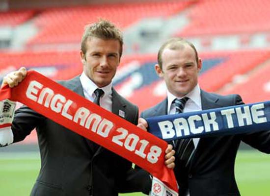 بيكام يساند روني كقائد لمنتخب إنجلترا