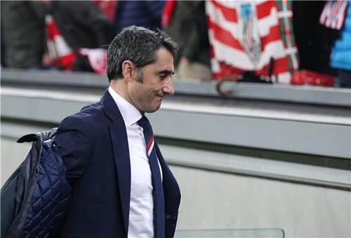 بيلباو يزيد التكهنات بشأن اقتراب فالفيردي من تدريب برشلونة