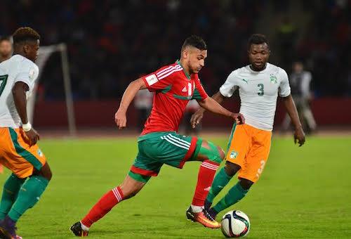 مواجهة المغرب والكوت ديفوار