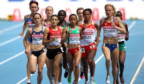 تأهل سارة السوهي إلى نهاية 800م ببطولة العالم