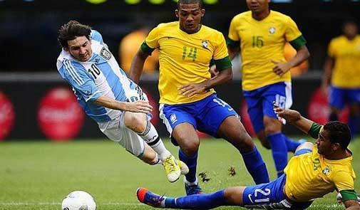 """البرازيل والأرجنتين في""""سوبر كلاسيكو"""""""