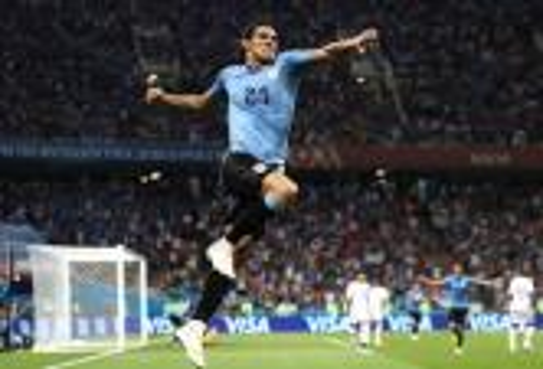 كافاني يطيح بالبرتغال ويقود أوروغواي إلى دور الثمانية لكأس العالم
