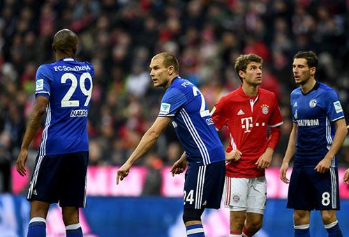 بايرن ميونخ وشالكه أبرز مواجهات الجولة 22 بالدوري الألماني