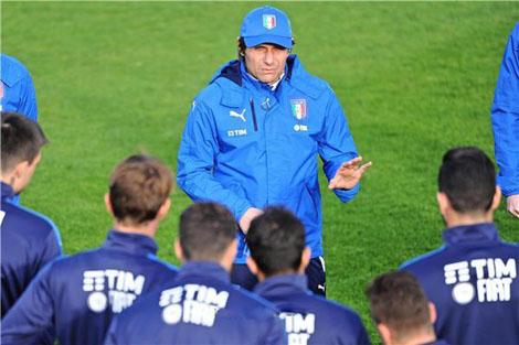 كونتي: تدريب إيطاليا تجربة هائلة