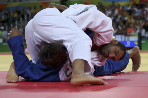 المصري درويش يبلغ ربع نهائي منافسات الجودو بريو