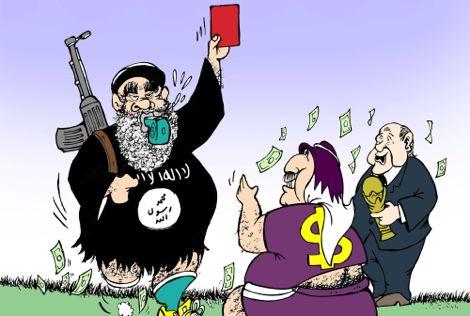 دير شبيغل: كأس العالم 2022 لن تقام في قطر بسبب دعمها لداعش