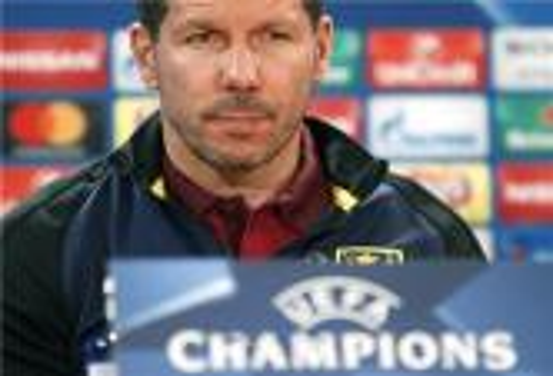 سيميوني: قميص أتلتيكو مدريد أهم من البطولات