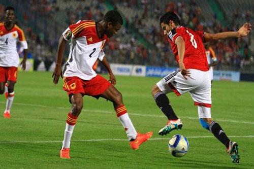 منتخب شباب مصر يسحق أنغولا ويتأهل لأمم إفريقيا