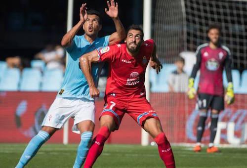 تعادل سيلتا فيغو وإسبانيول في الدوري الإسباني