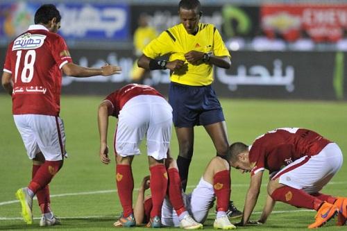 """""""تيسيما"""" حكم نهائي العصبة يقضي الليلة في القاهرة.. وفورة غضب تعتري الترجي"""