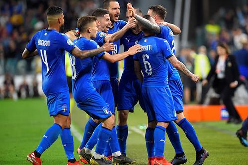 المنتخب الإيطالي يريد العلامة الكاملة في التصفيات المؤهلة ليورو 2020