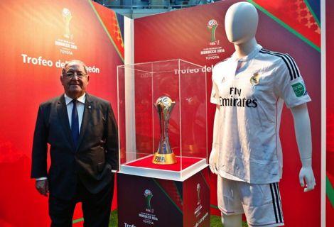 """الـ FIFA تعرض كأس """"الموندياليتو"""" بالعاصمة الإسبانية مدريد"""
