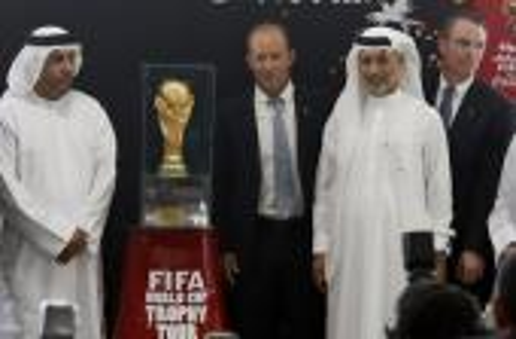 الإمارات تستقبل النسخة الأصلية لكأس العالم