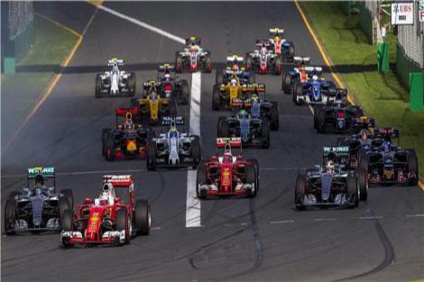 فرق تتنافس على جائزة أستراليا الكبرى للفورمولا
