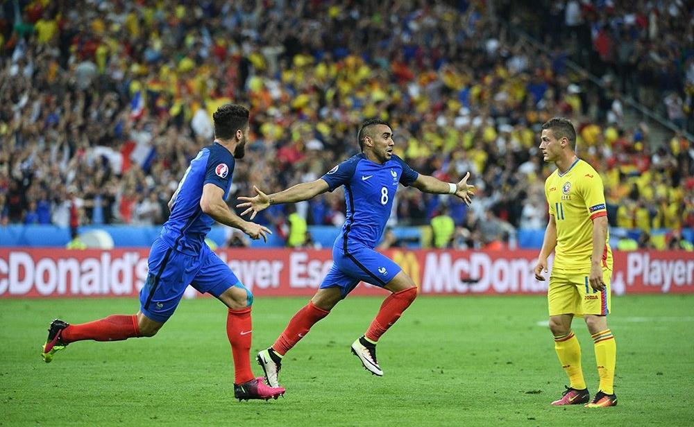 فوز فرنسا على رومانيا