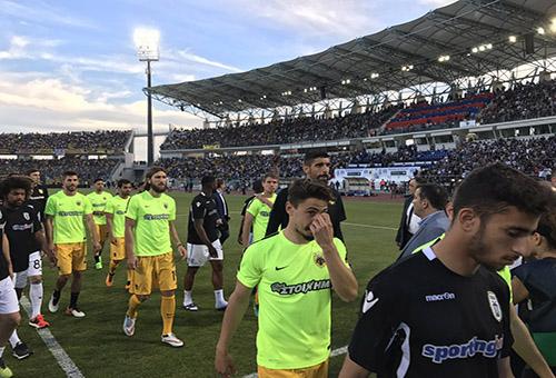 اشتباكات دموية على هامش نهائي كأس اليونان