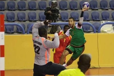منتخب اليد يودع كأس إفريقيا أمام أنغولا