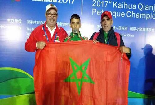 المغربي هشام بولعسل وصيف بطل العالم للكرة الحديدية