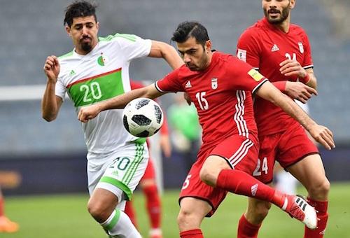 المنتخب الإيراني يستعد للمونديال بفوز صعب على الجزائر وديا