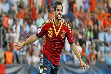 فوز إسبانيا على إيطاليا
