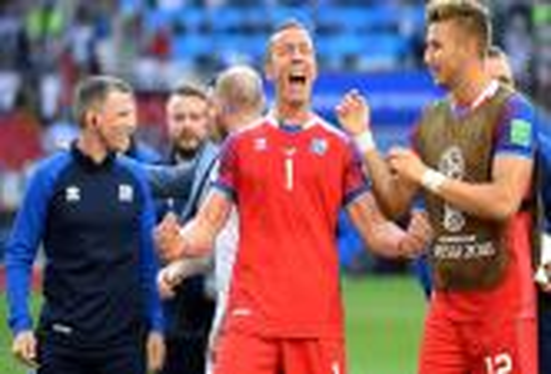حارس آيسلندا أفضل لاعب في مواجهة الأرجنتين