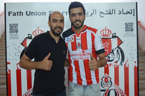 رسميا: الفتح الرباطي يُوقع مع أحمد جحوح
