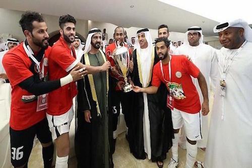 الجزيرة بطلا لكأس الإمارات بعد تغلبه على العين