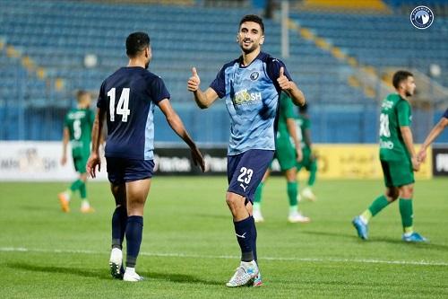 هدفان وصدارة هدافي الدوري المصري في أول ظهور للكرتي مع بيراميدز