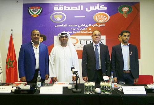 صحف الجمعة: مباراة كأس الصداقة المغربية-الإماراتية بين الوداد والأهلي مهددة بالإلغاء