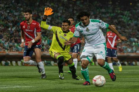 لاغونا يهزم فيراكروز في الدوري المكسيكي
