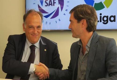 اتفاق تعاون بين الليجا والدوري الأرجنتيني
