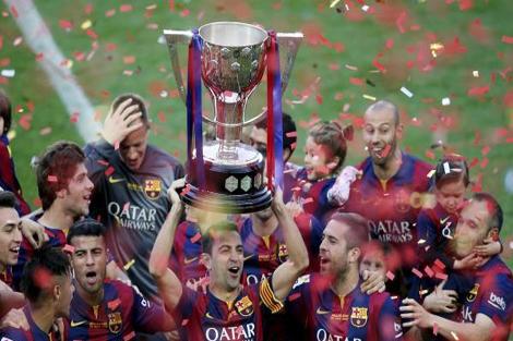 برشلونة يبدأ رحلة الدفاع عن لقبه