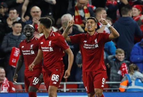 ليفربول ينتزع فوزا صعبا من باريس سان جيرمان في دوري أبطال أوروبا