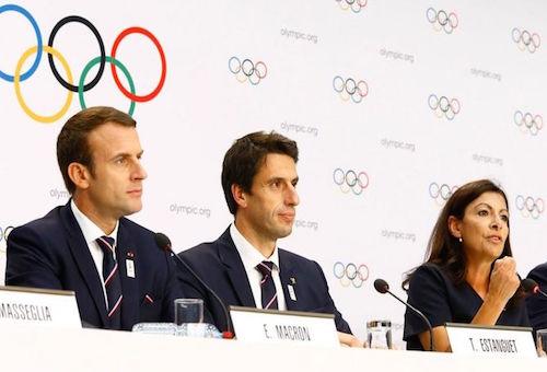 ماكرون: فوز باريس بتنظيم أولمبياد 2024 غير محسوم