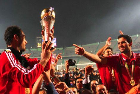 الأهلي المصري بطلا للكونفيدرالية للمرة الأولى في تاريخ الأندية المصرية