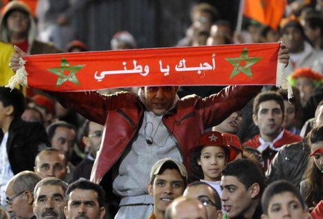 """""""إيمازيغن"""" تُحضّر لرفع """"تيفو"""" في مباراة المغرب وكوت ديفوار"""