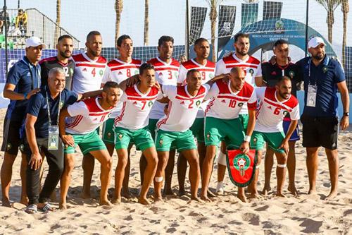 """منتخب الكرة الشاطئية يضمن التأهّل لمربع """"الكان"""".. ومجيد الخال: هدفنا كأس العالم"""