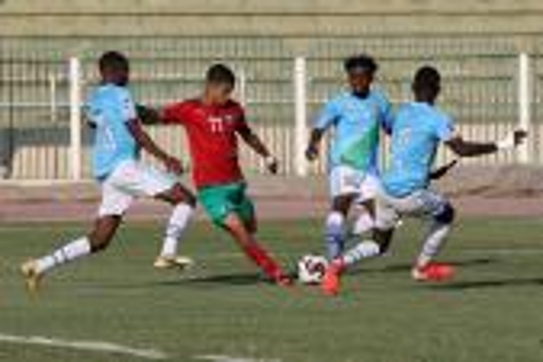 """""""الأشبال"""" يقسون على جيبوتي برباعية ويبلغون ربع نهائي كأس العرب"""